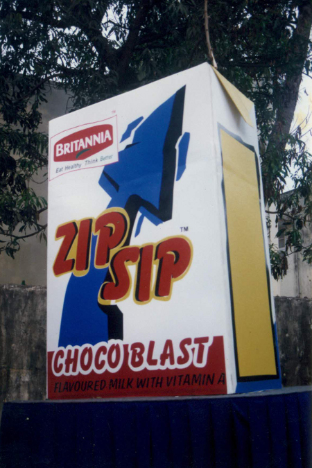2000 - Brittannia Road Show for Zip Sip